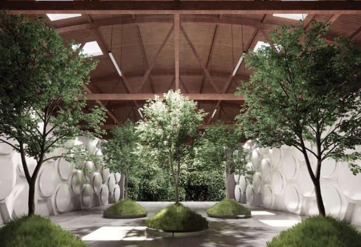 proyecto reduccion natural organica de cadaveres diseño