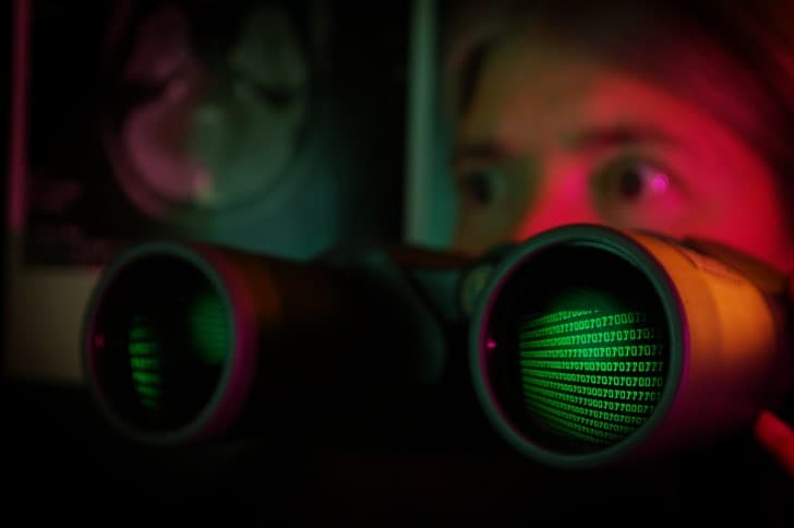 termina binaria reflejos binoculares