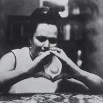 Nina Kulagina durante un experimento