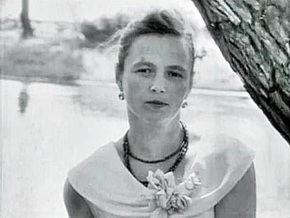 Nina Kulagina en la juventud