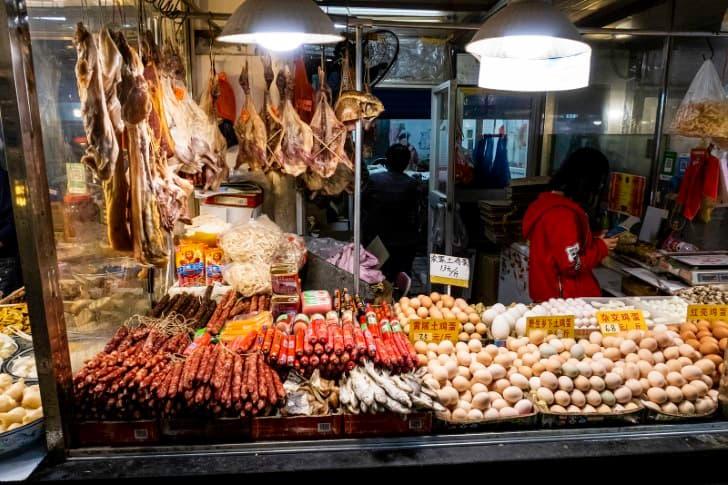 Wuhan mercado de carnes