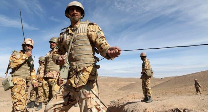 soldados iranies