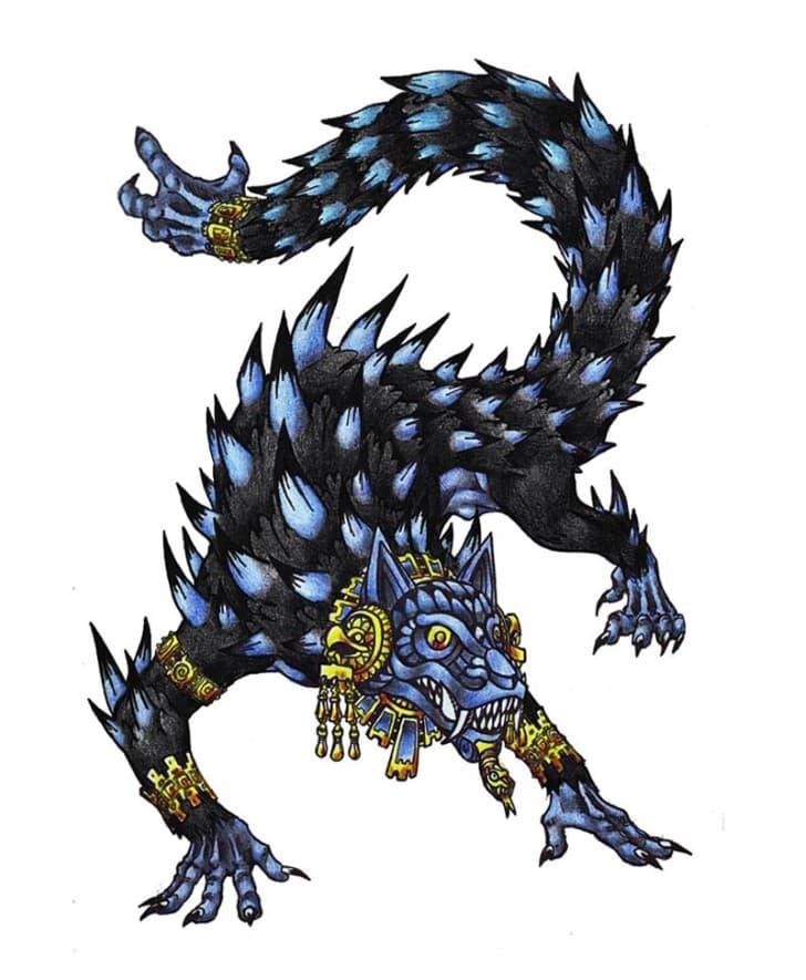 Ahuízotl perro de agua azteca