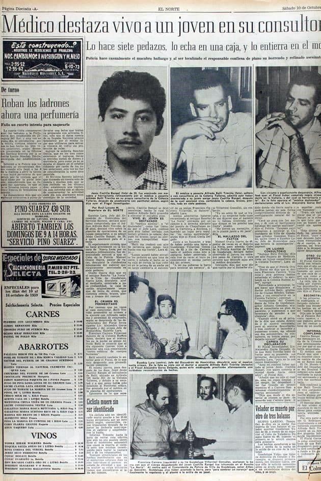 Alfredo Ballí Treviño crimen
