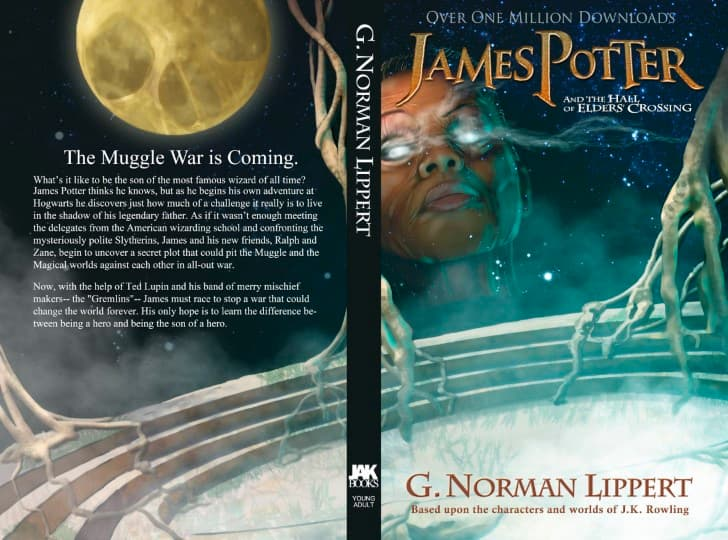 James Potter and the Hall of Elders' Crossing