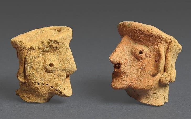 artefactos arqueologicos en Tel Motza
