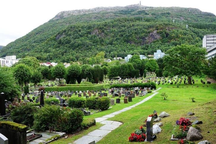 cementerio Mollendal,