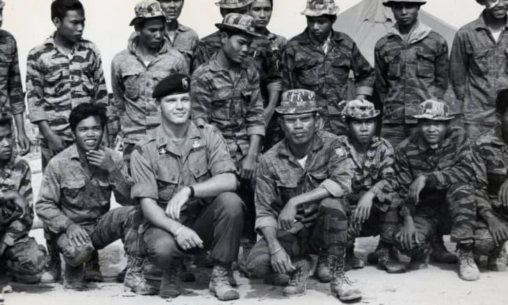 Bo Gritz soldado americano