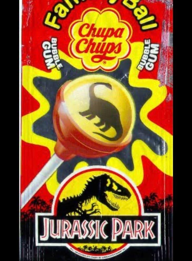 Chupa Chups Jurassic Park