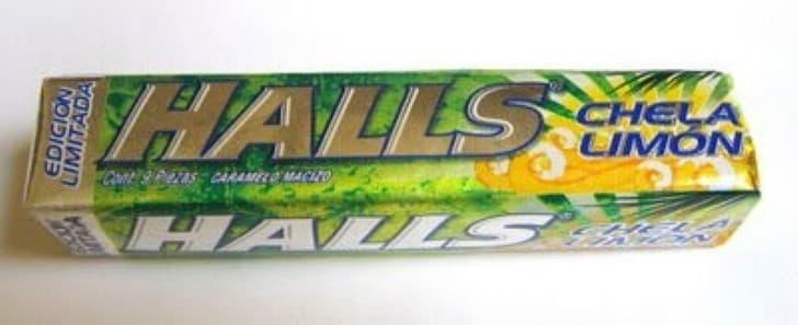 Halls Chela limon