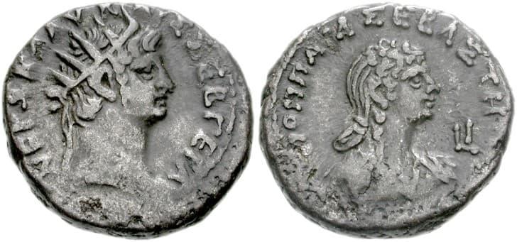 Neron y Popea Sabina