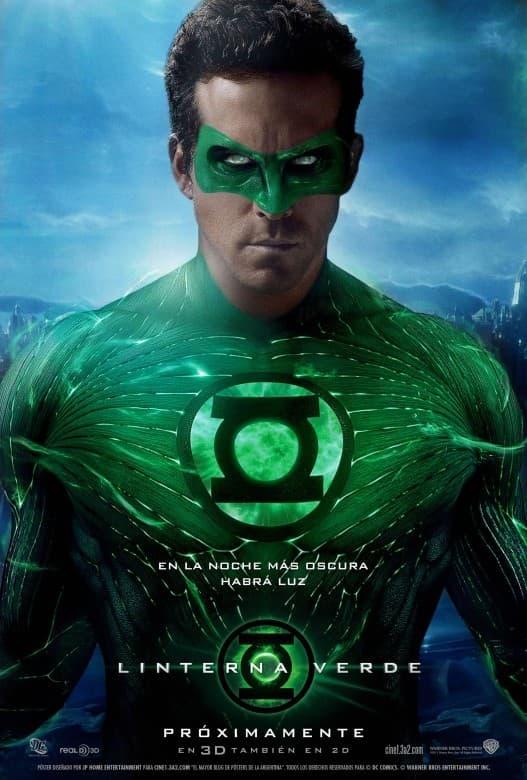 Poster Linterna Verde 2011