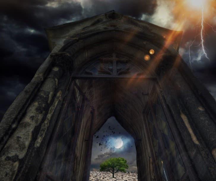 apocalipsis entrada rayos