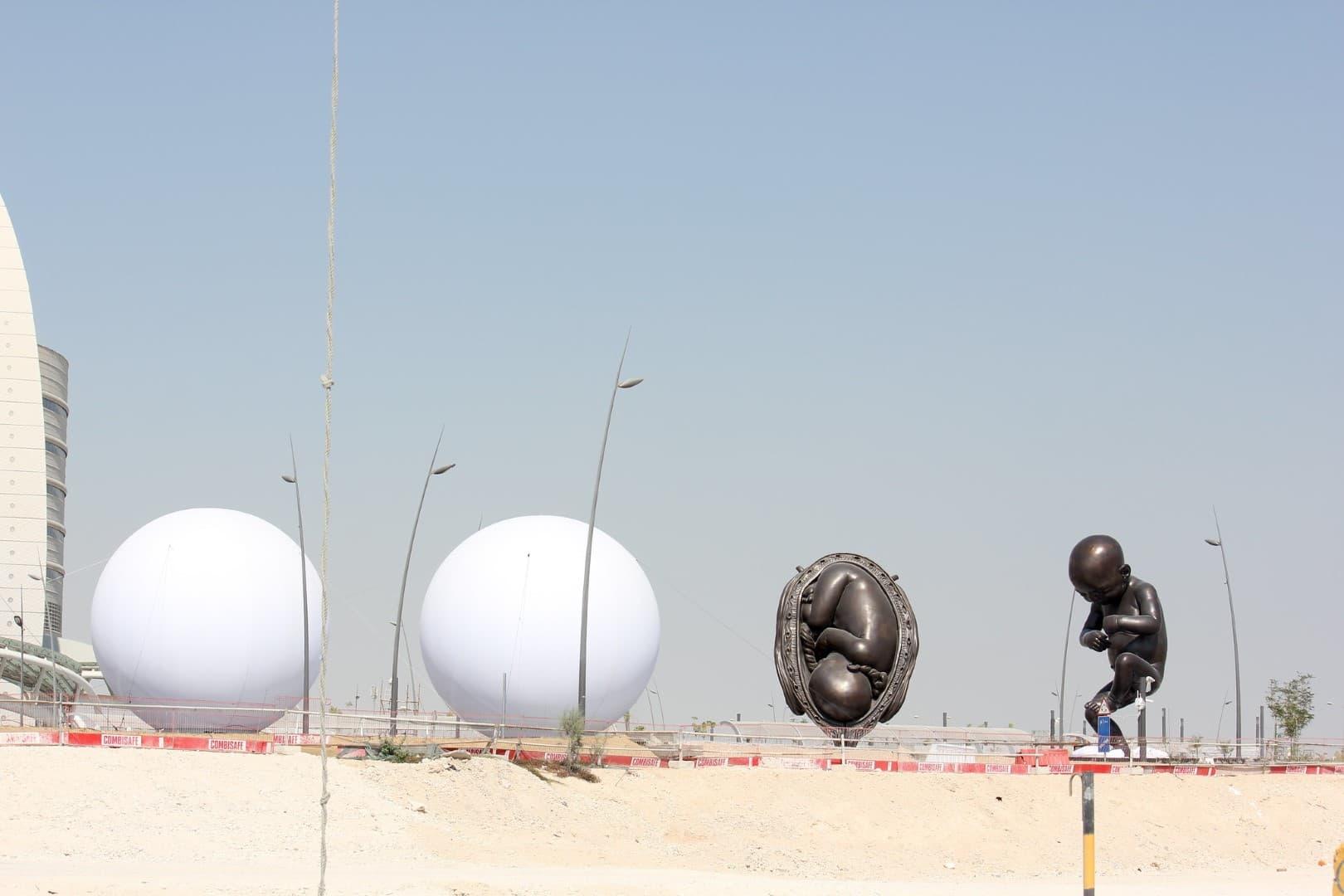 esculturas cubiertas en 2013