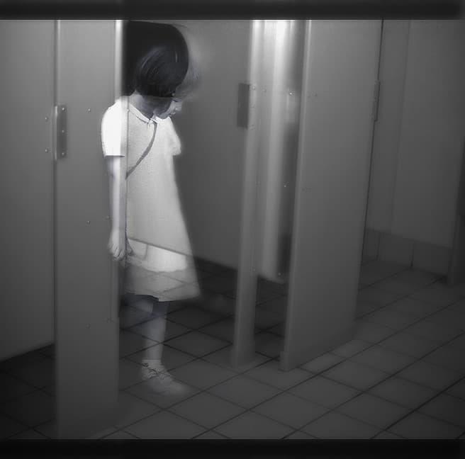 fantasmas en el baño japon