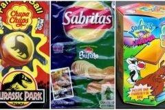 productos alimenticios de nuestra infancia