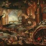 Jacob Isaacsz. van Swanenburg pintura del Inframundo