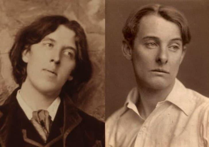 Oscar Wilde y Alfred Douglas (1)