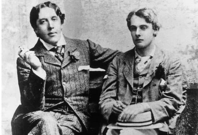 Oscar Wilde y Alfred Douglas (2)