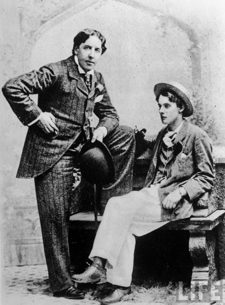 Oscar Wilde y Alfred Douglas (3)
