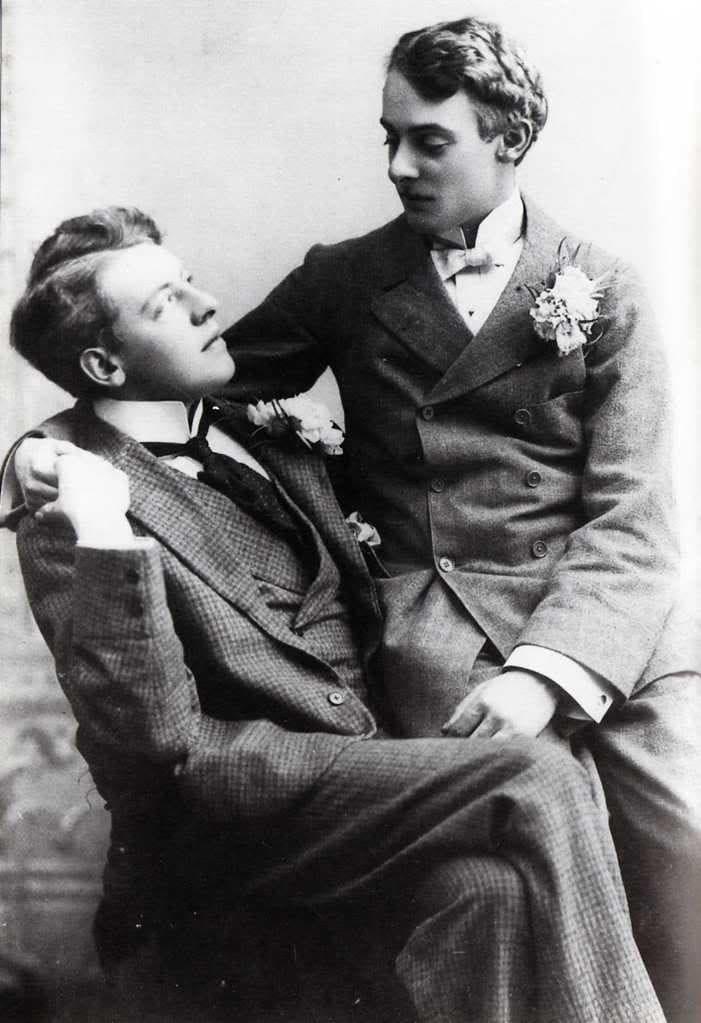 Oscar Wilde y Alfred Douglas (4)