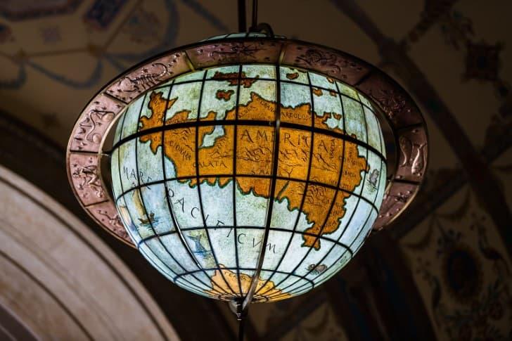 el mundo lampara