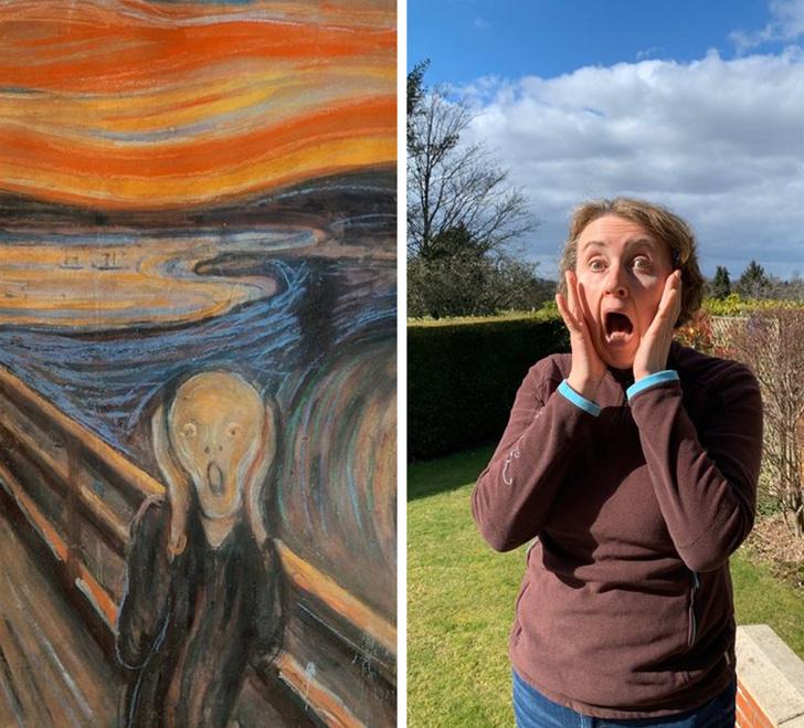 parodias del arte el grito