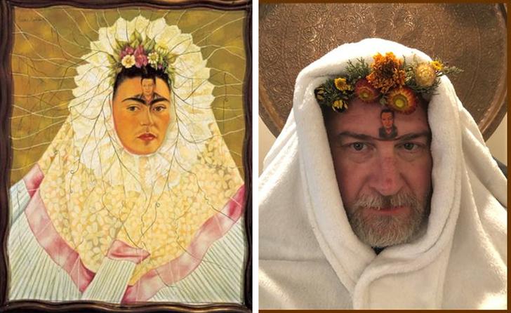 parodias del arte tehuana