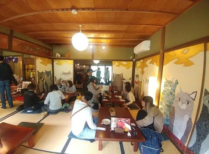 Nyan Nyan Ji Templo o Cafeteria Japones de gatos (12)