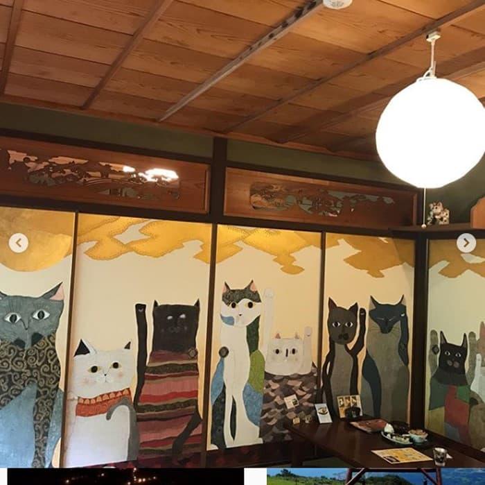 Nyan Nyan Ji Templo o Cafeteria Japones de gatos (15)