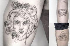Tatuajes de visión doble por Yatzol Elizalde