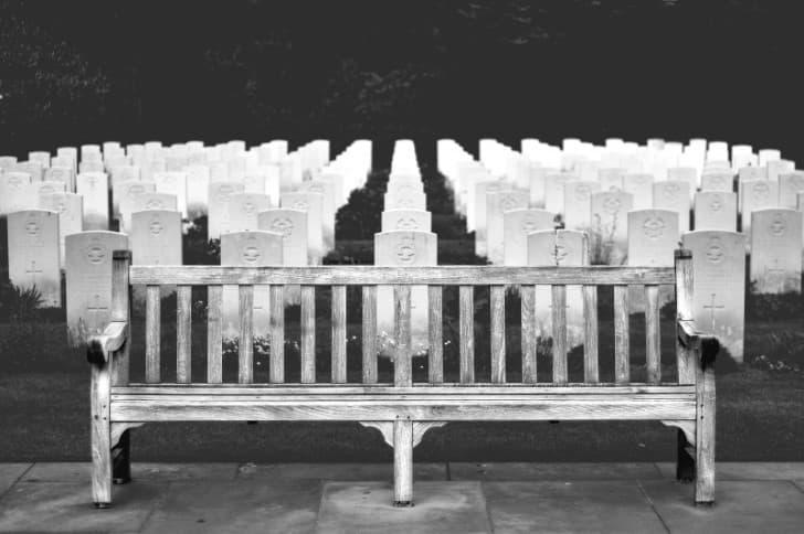 camino a la eternidad cementerio