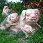 cerdos de las alcantarillas en Londres