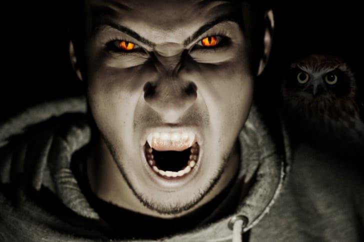 Johannes Cuntius hombre vampiro
