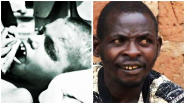 John Ssebunya criado por macacos