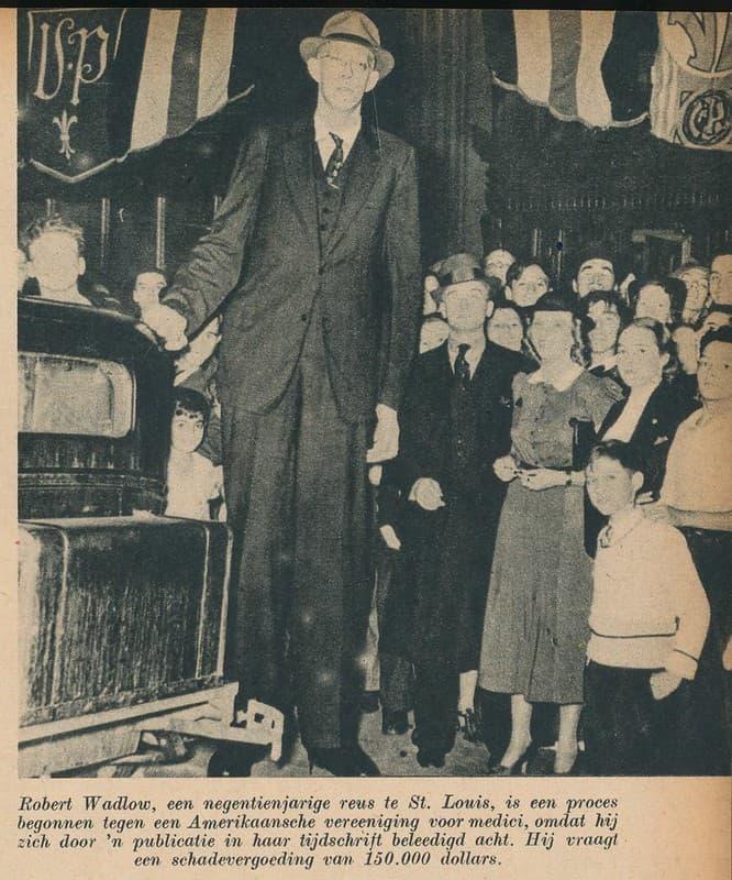 Robert Wadlow en 1937