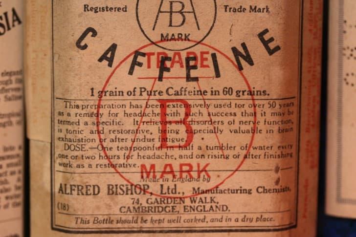 cafeina en medicamento