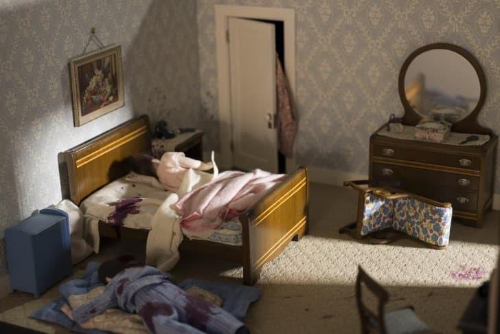 dioramas miniaturas escenas del crimen Nutshell Studies of Unexplained Death (7)