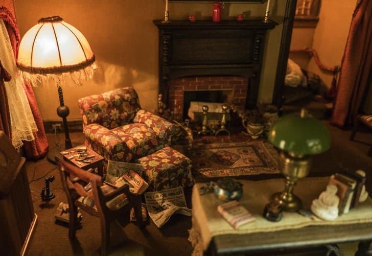 escenas del crimen casa de muñecas