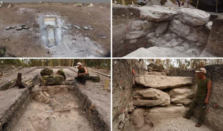 excavaciones en Aguada Fenix