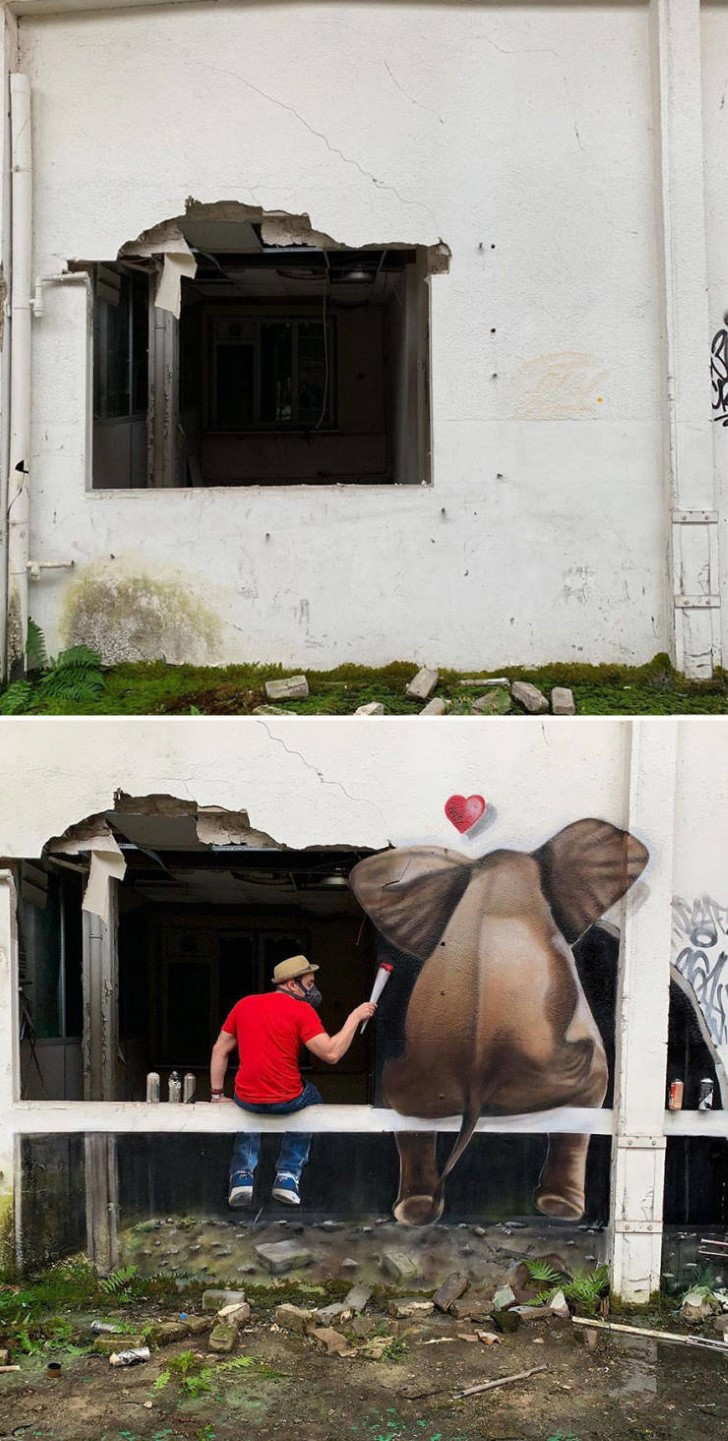 grafiti 3D ilusion opica scaf (34)