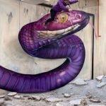 grafiti 3D ilusion opica scaf (35)