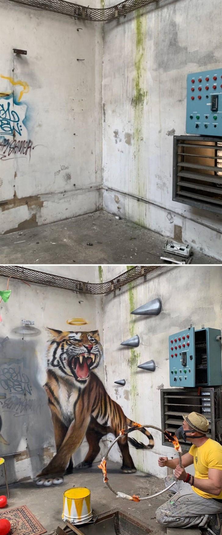 grafiti 3D ilusion opica scaf (45)