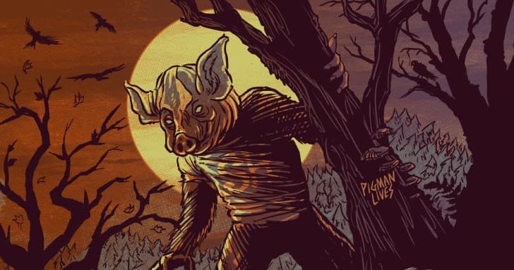 hombre cerdo