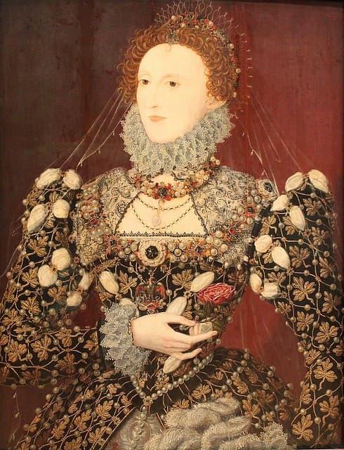 pintura de la reina isabel i