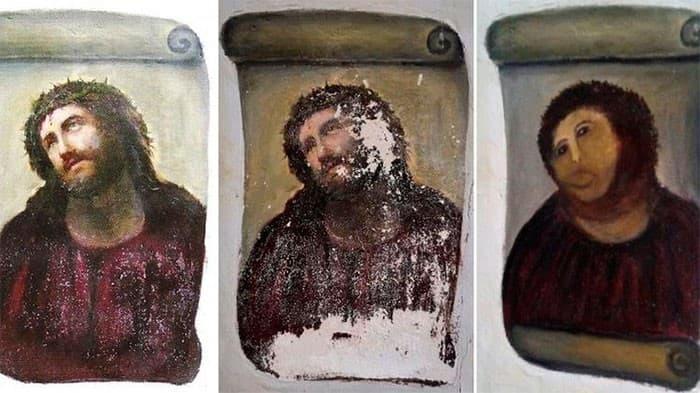 restauracion del Ecce Homo