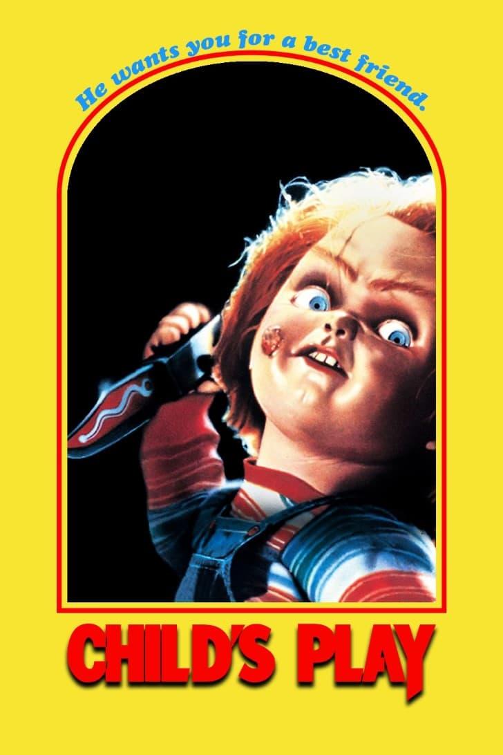 El muñeco diabólico (1988) poster pelicula