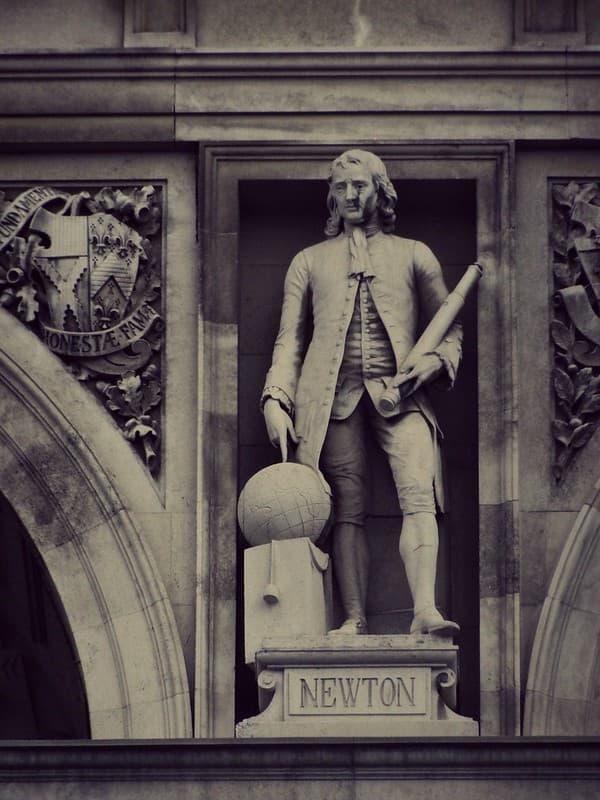 Estatua de Isaac Newton