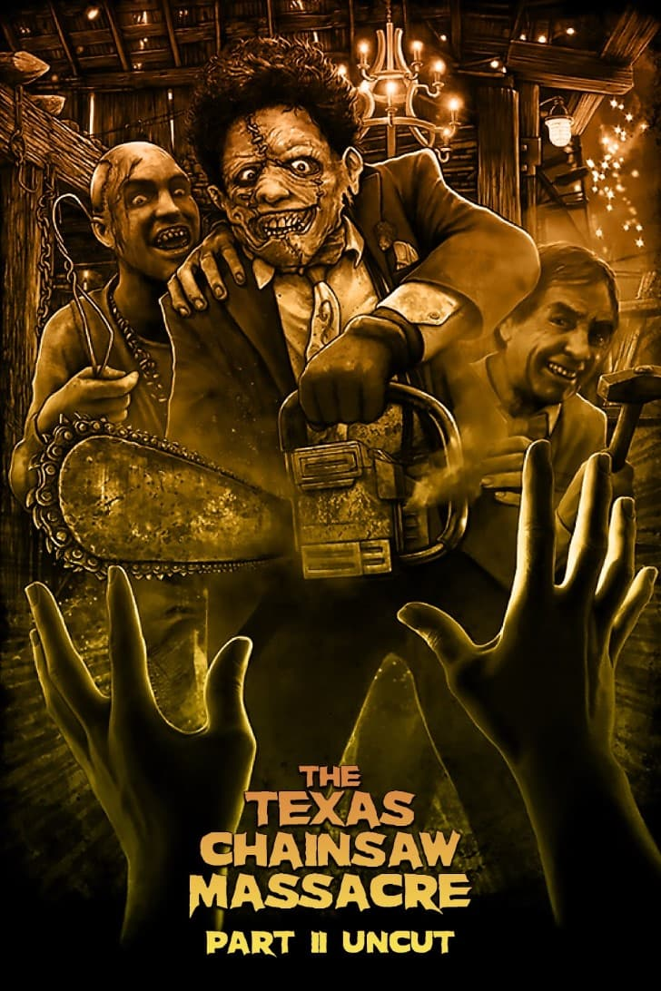 La masacre de Texas II poster