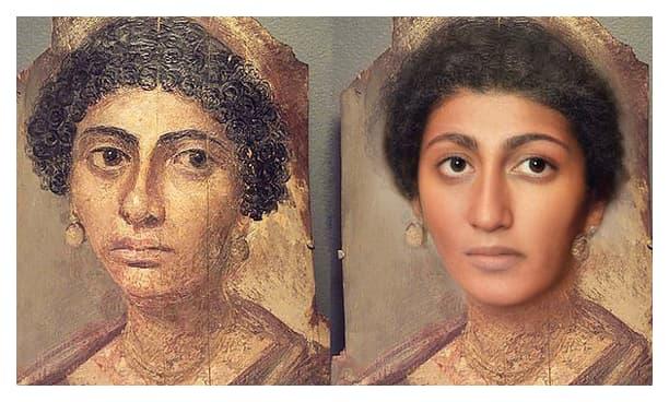 Momias de El Fayum realista